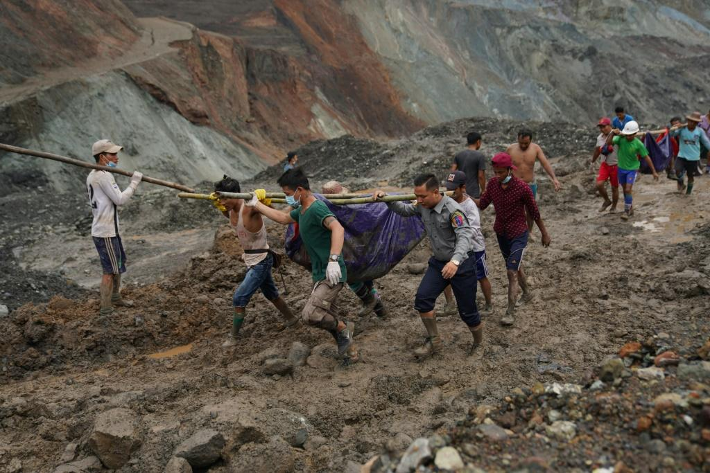 The landslide killed over 160 jade miners in northern Myanmar, many of them migrant workers seeking their fortune in treacherous open-cast mines near the China border