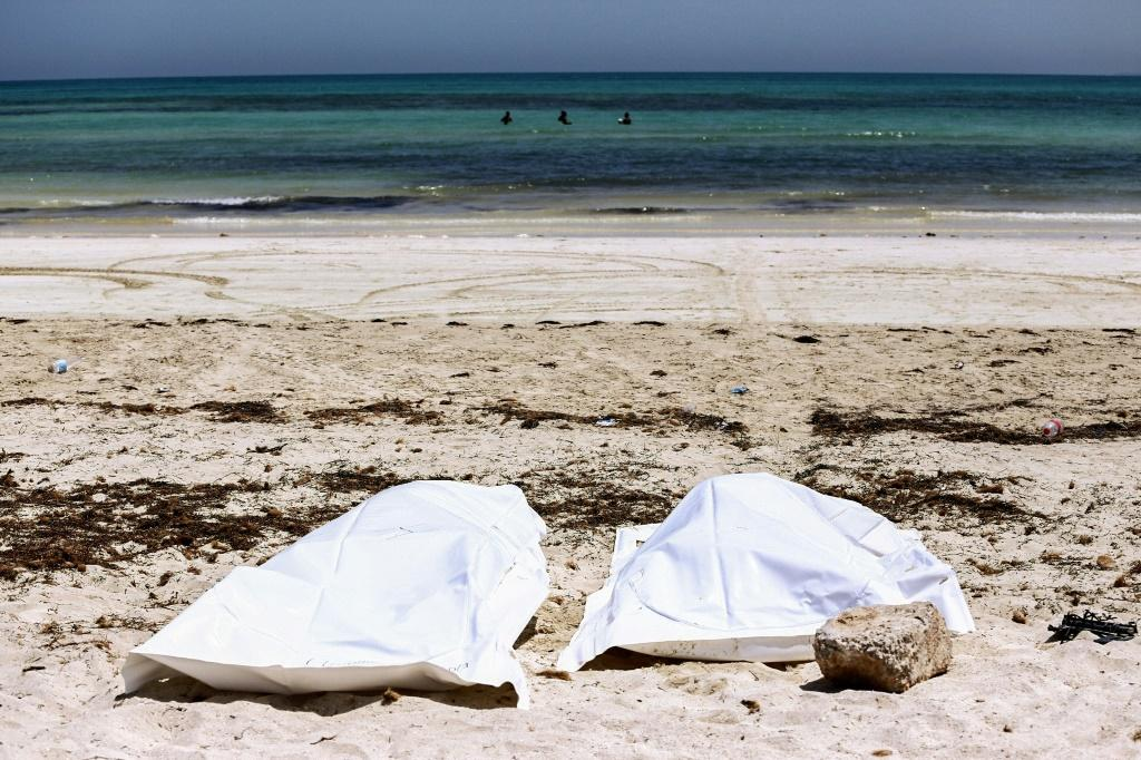 Dozens of bodies of migrants -- like those retrieved on the island of Djerba last year -- are recovered from the sea off Tunisia every year, casualties of journeys toward Europe across the Mediterranean that ended in tragedy