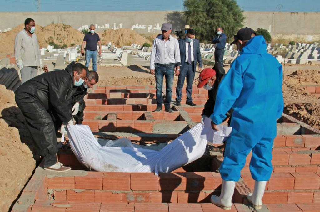 Migrants who perished en route to Europe were buried in a Muslim cemetery near Sfax, in numbered and indexed graves, in case one day someone should come to claim them or discover their fate