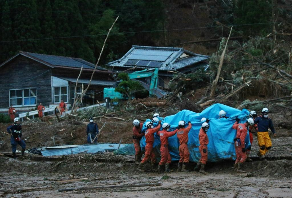Rescue workers were trying all night to reach people cut off by the flooding