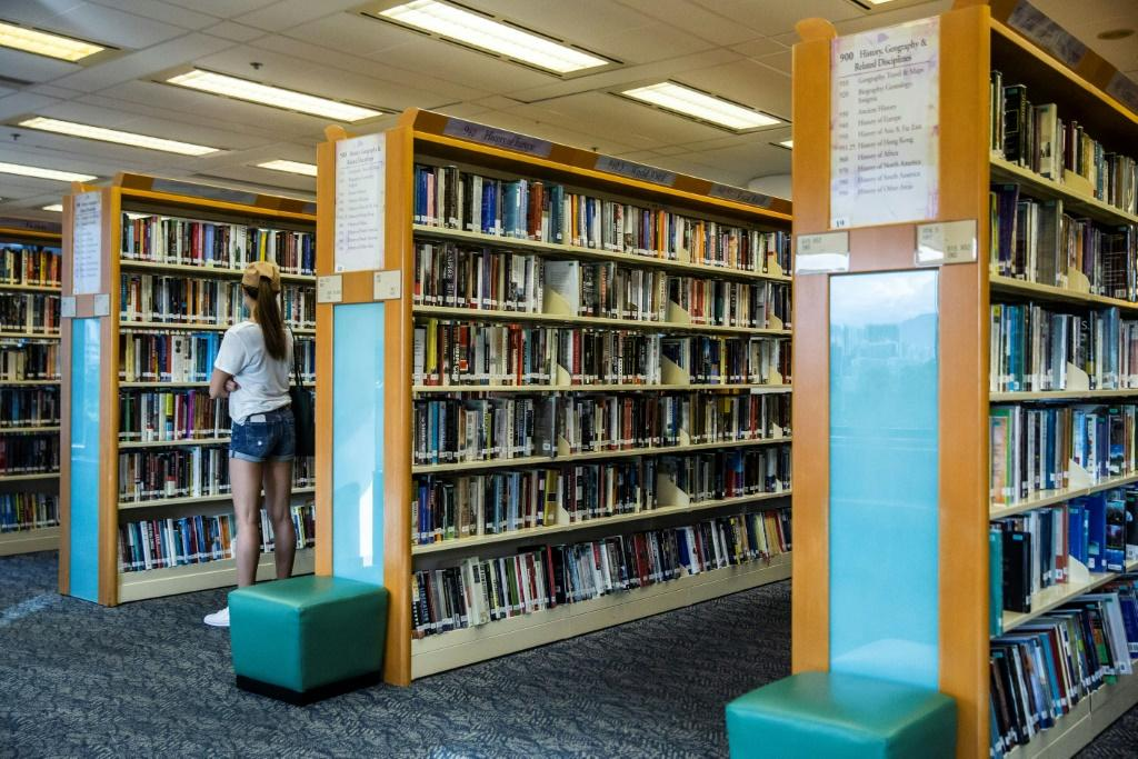 Hong Kong's libraries earlier said they were pulling titles deemed to breach the new security law for a review