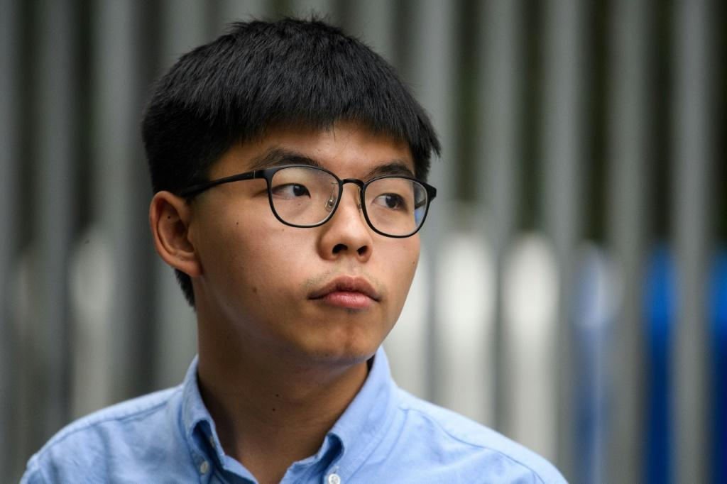 Joshua Wong is one of Hong Kong's most prominent young activists