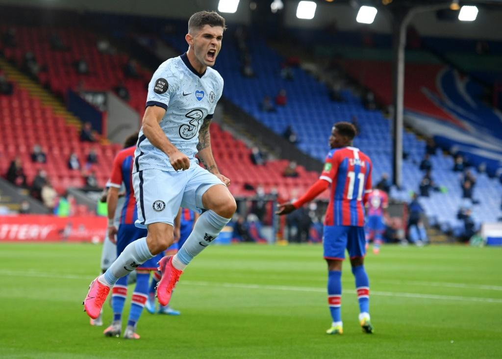 Christian Pulisic inspired Chelsea to victory at Crystal Palace