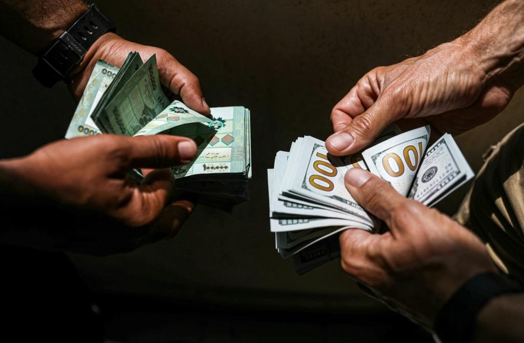 A crippling dollar shortage has sparked rapid inflation while the value of the Lebanese pound has plunged