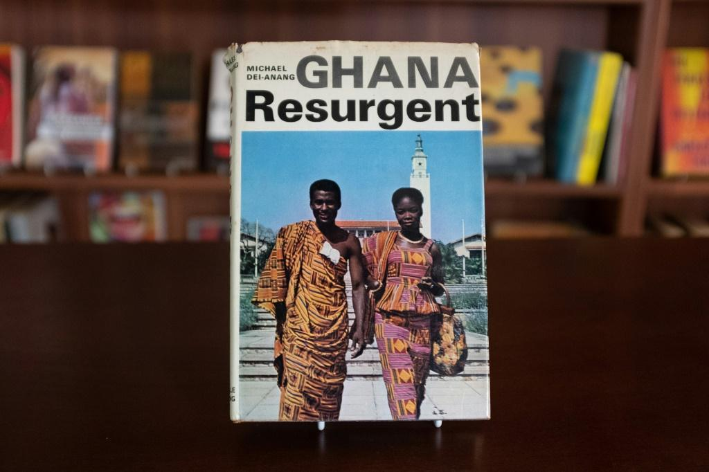 A rare book by author Micheal Dei-Anang is among the collection of out-of-print texts