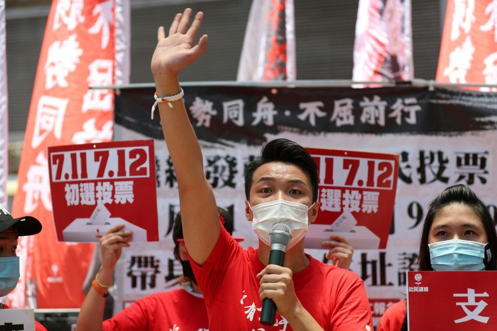 The primary was held days after a Hong Kong government minister warned it could be in breach of a tough new security law imposed by Beijing