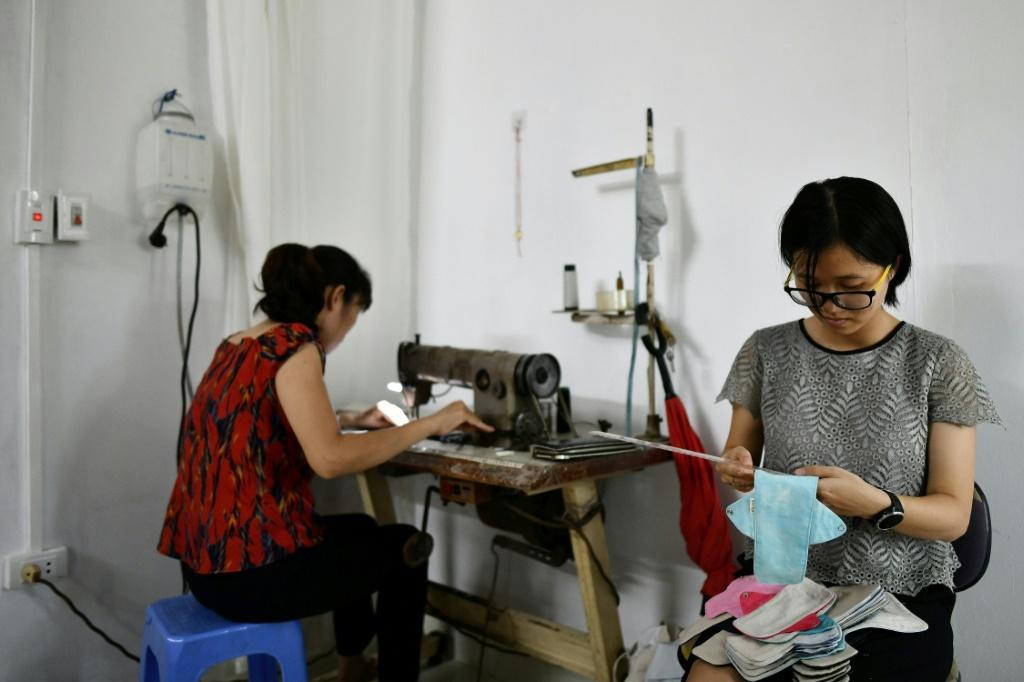Bui Thi Minh Ngoc wanted to find a sustainable alternative to standard menstrual products