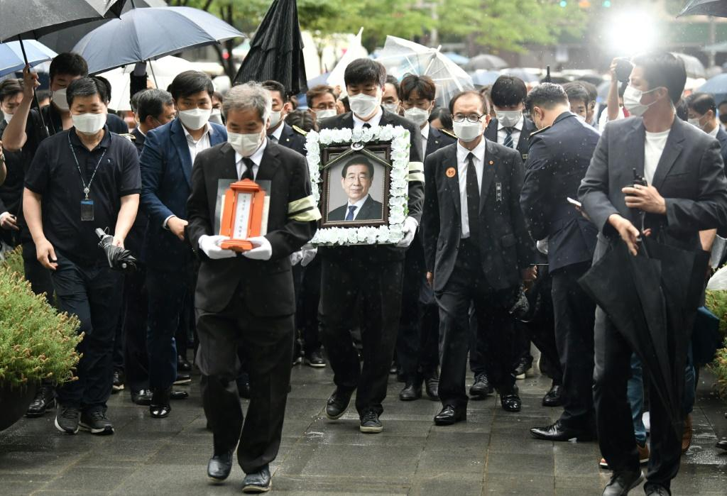 Despite the controversy over his death, the Seoul City government organised a five-day funeral for Park Won-soon