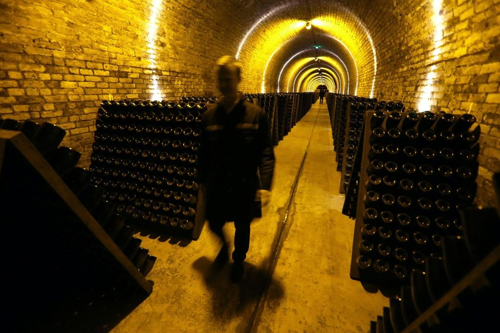 The Krug champagne cellars in Reims