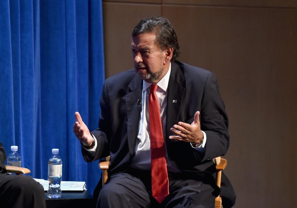 Former New Mexico governor Bill Richardson, seen here in 2014, plans to meet Venezuelan President Nicolas Mdauro to seek the release of US prisoners
