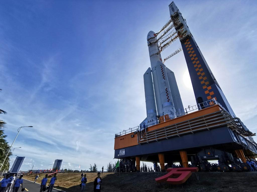Tianwen-1 launched aboard a Long March 5, China's biggest space rocket