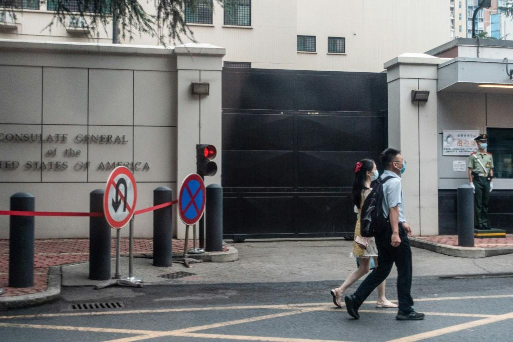 China ordered the US consulate in Chengdu to close