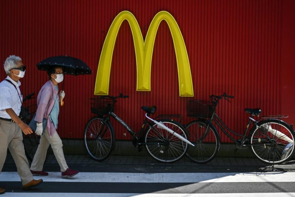 McDonald's reported a big drop in second-quarter profits, but said sales picked up gradually during the quarter as lockdowns were eased