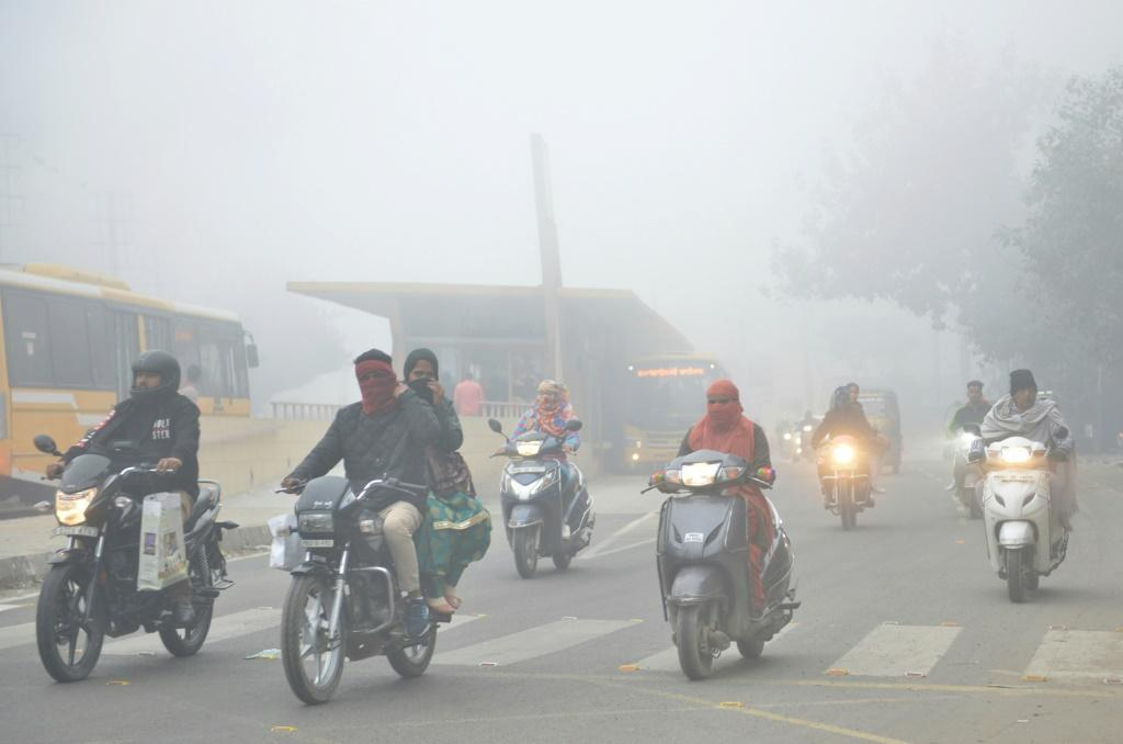 Nearly a quarter of humanity lives in the four most polluted countries, all in south Asia