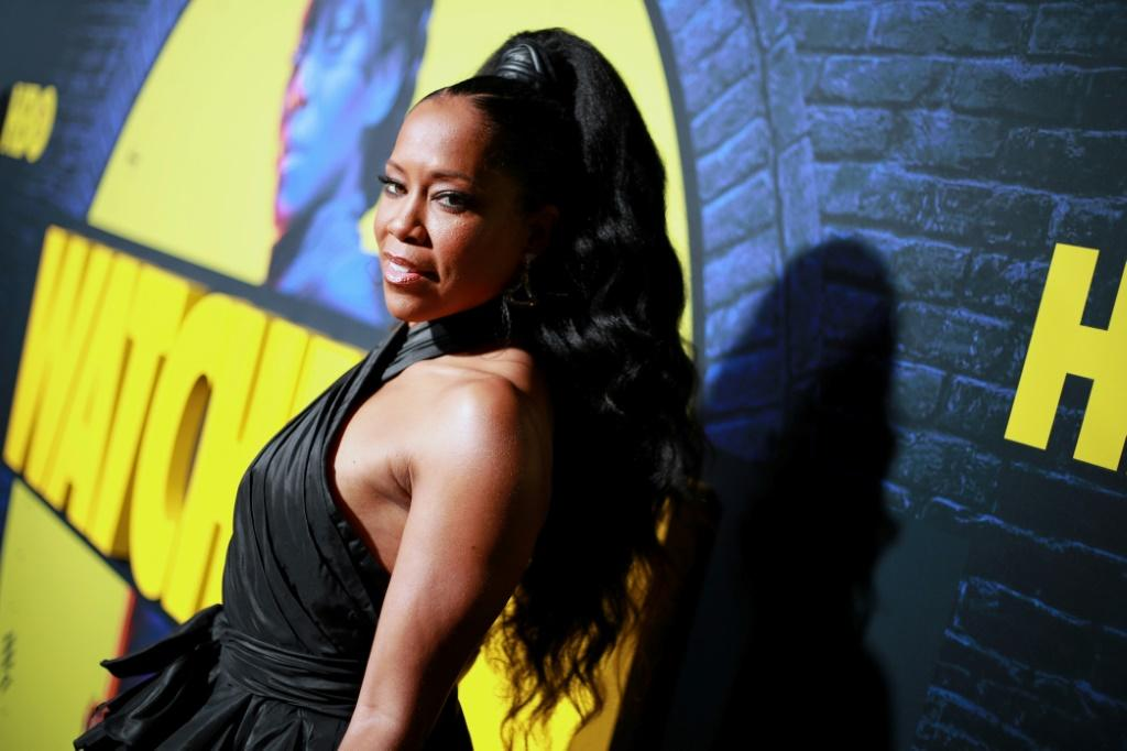 "Regina King -- seen here at the premiere of HBO's ""Watchmen"" at The Cinerama Dome on October 14, 2019 in Los Angeles -- is seen as a favorite to take home an Emmy"
