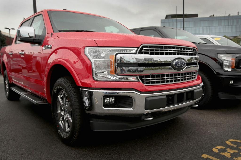 Solid sales of F-150 pickup trucks helped Ford report better-than-expected results