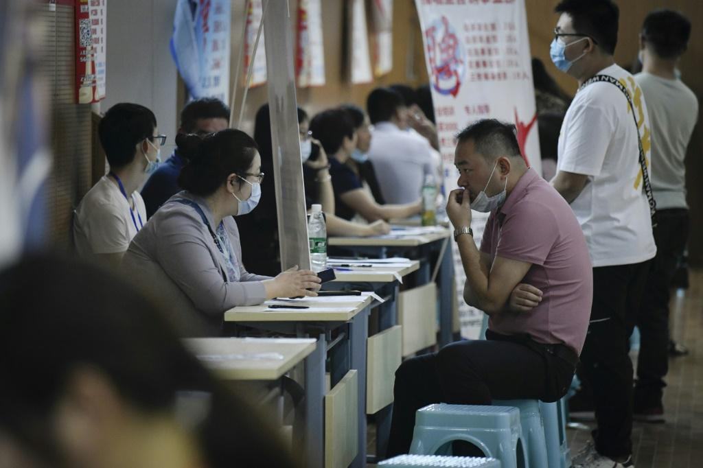 Officials in China are ramping up efforts to boost graduate employment