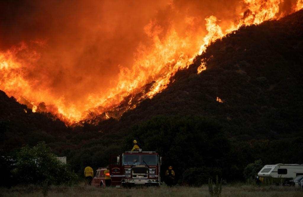 The so-called Apple Fire has charred more than 32,000 acres of land.