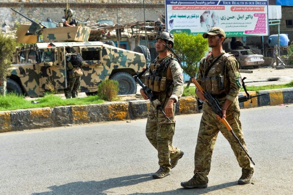 Afghan soldiers were rushed to the prison in Jalalabad
