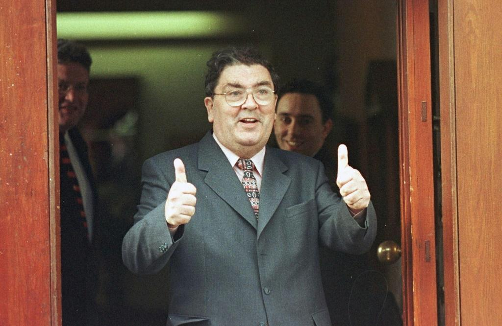 John Hume helped lead the cross-community peace process that culminated in the landmark Good Friday agreement