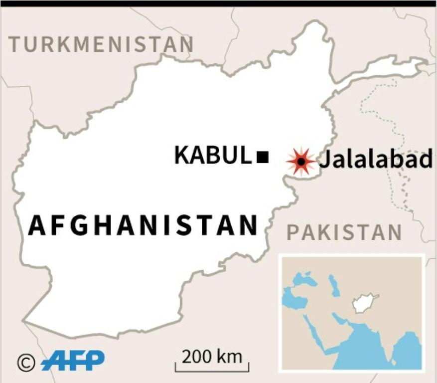 Afghan troops kill an ISIS intel chief in Jalalabad