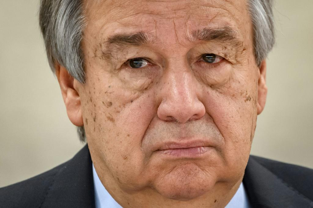 "UN Secretary-General Antonio Guterres has hit out at the ""unprecedented"" foreign interference in the conflict in Libya"