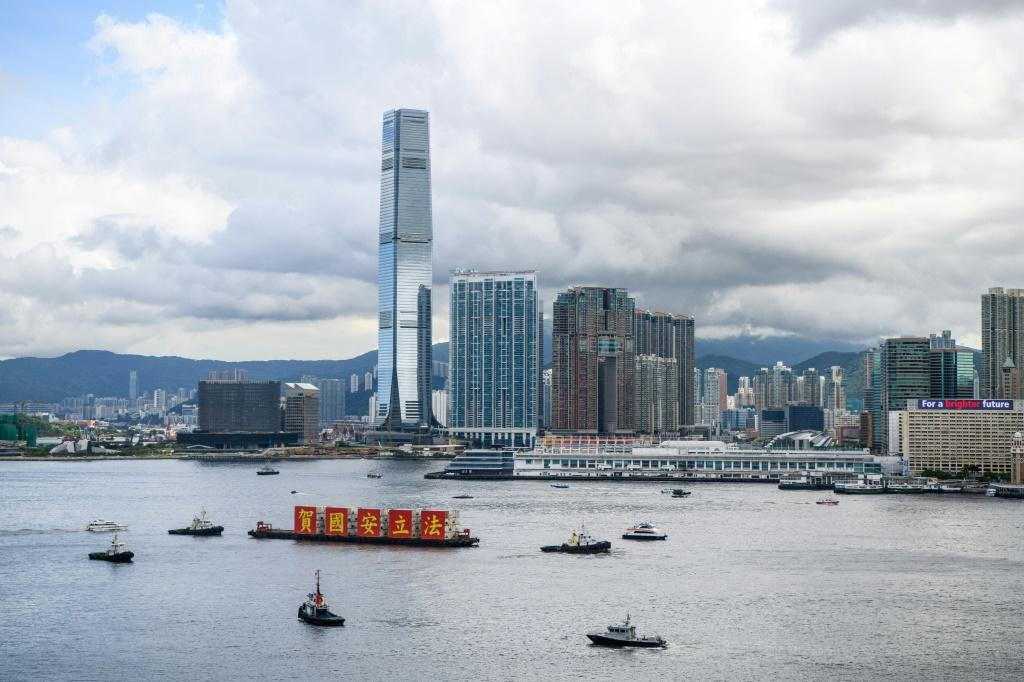 China imposed the new security law after Hong Kong was shaken by months of pro-democracy protests