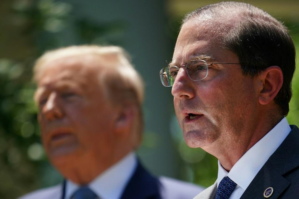 US Secretary of Health and Human Services Alex Azar will lead the upcoming delegation to Taiwan, which Beijing claims and had vowed to one day seize