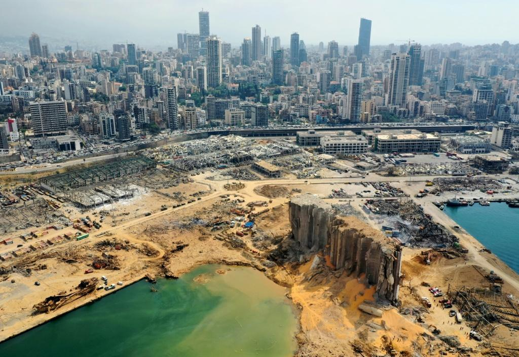 Beirut's port has been reduced to an enormous scrapyard