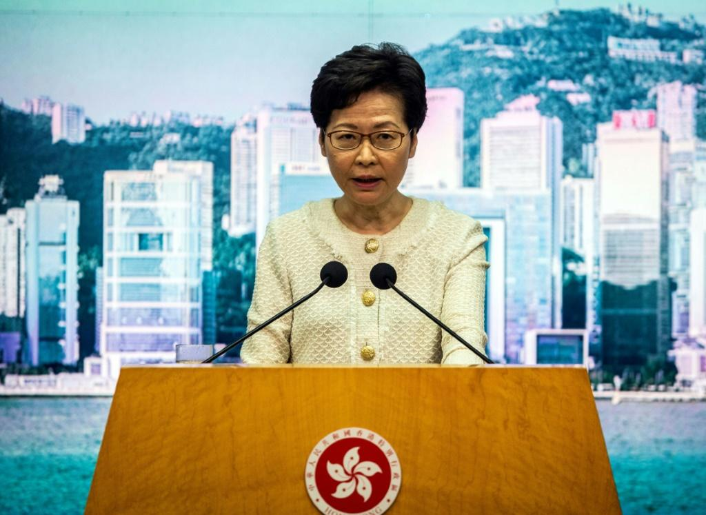 Beijing has slammed US sanctions against Chinese and Hong Kong officials, including city leader Carrie Lam, over what Washington has called an assault on the territory's freedoms