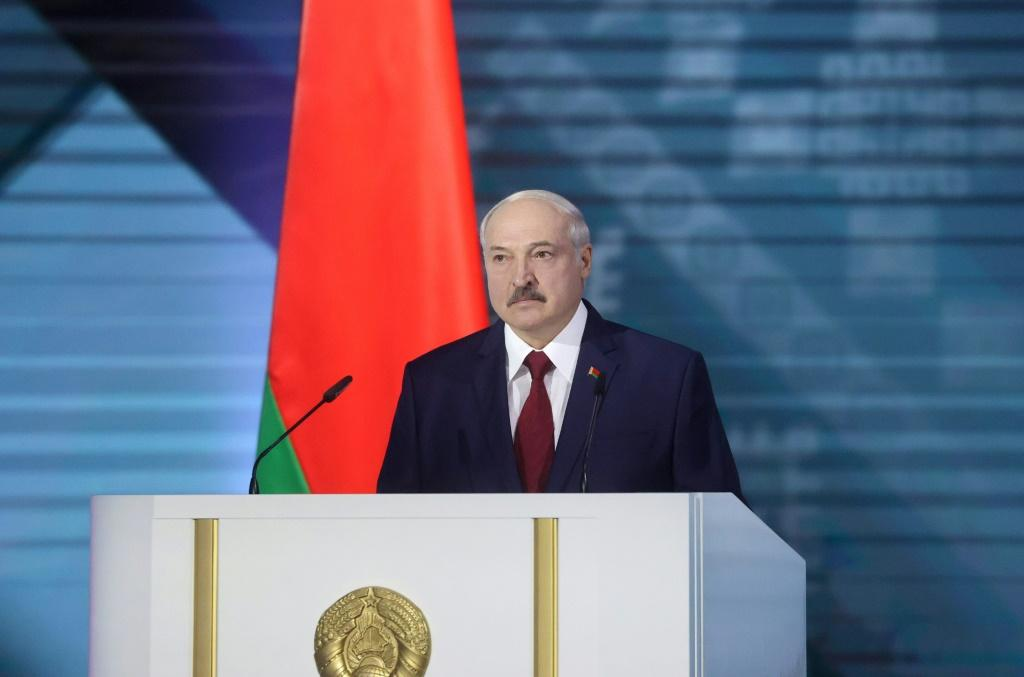 Belarus' President Alexander Lukashenko (pictured August 4, 2020), who is Europe's longest-serving leader, jailed two of his main rivals in the presidential elections while another would-be candidate fled the country