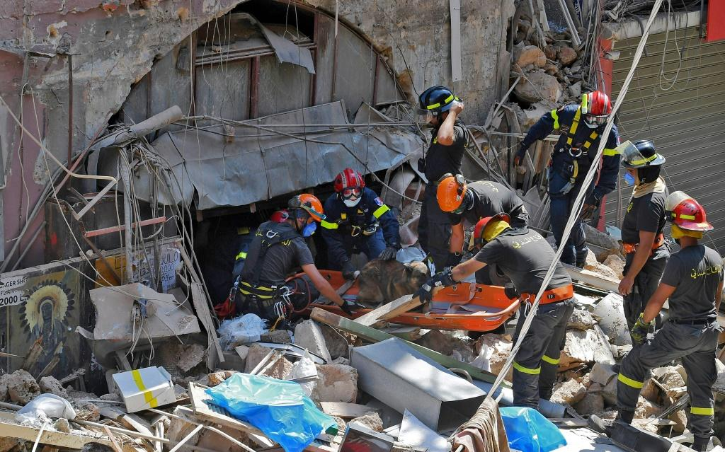 International rescue teams have joined the search for the 60 people still missing after Tuesday's explosion but hopes of finding survivors are fading