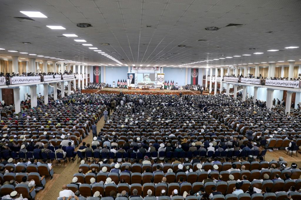 A mega gathering of prominent Afghans has approved the release of hundreds of Taliban prisoners