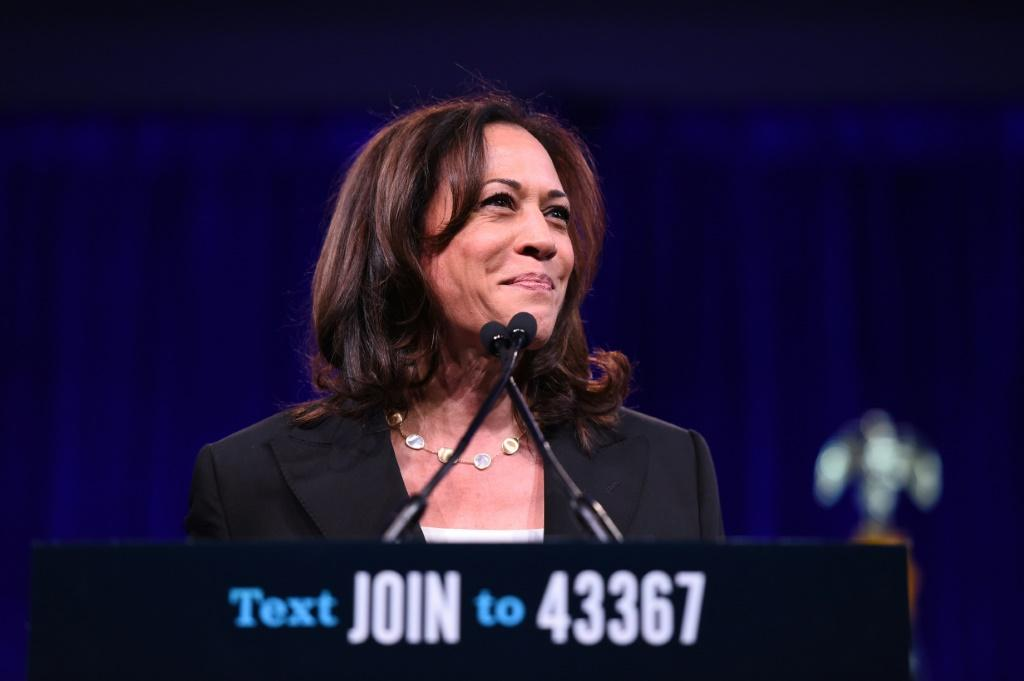 California senator Kamala Harris is the first black and Asian-American woman nominated for vice president