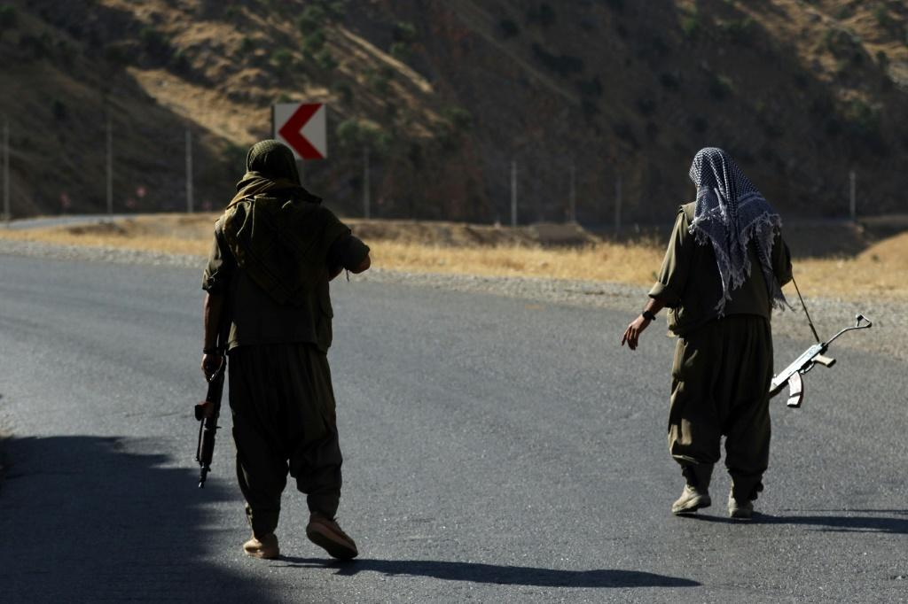 The Kurdistan Workers' Party (PKK) has long held bases in the rugged mountains of northern Iraq