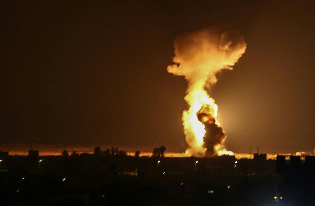 Israeli warplanes struck the southern Gaza Strip on Wednesday in response to similar launches of incendiary balloons from the Palestinian enclave