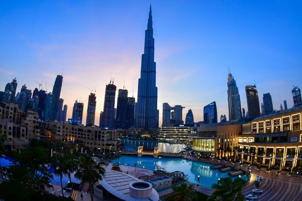 Dubai's Burj Khalifa, the tallest structure in the world, and a symbol of the oil-rich UAE