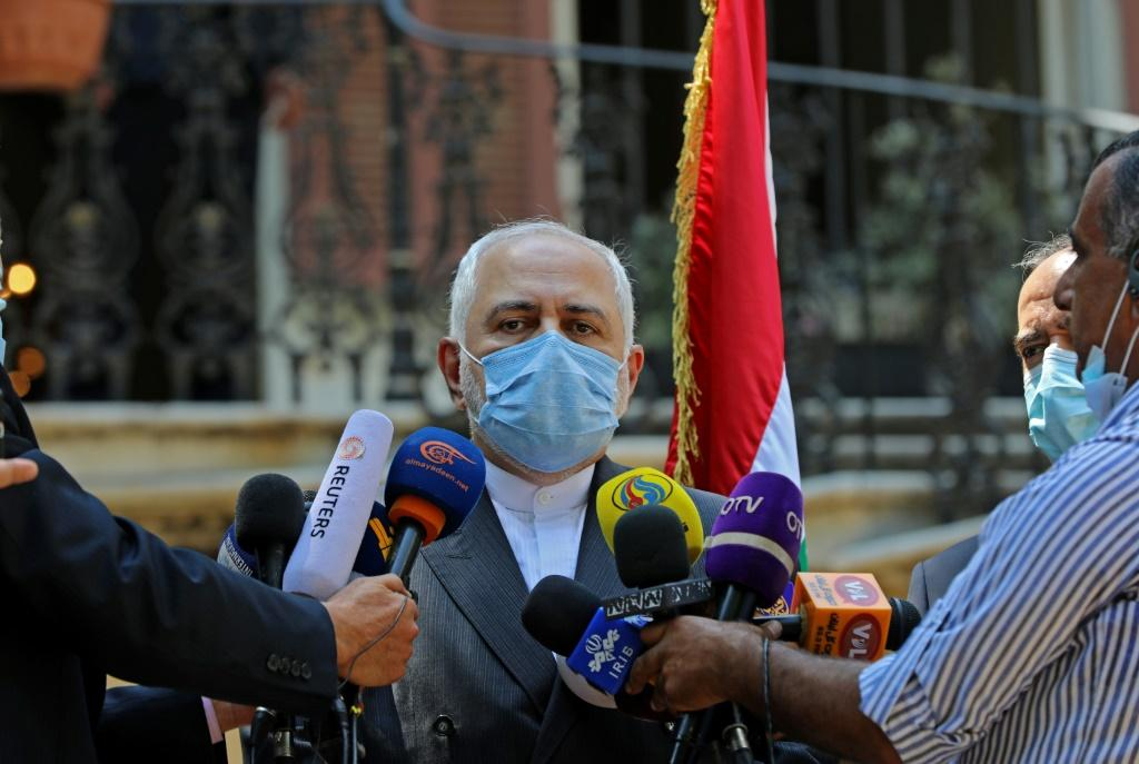 Iran's Foreign Minister Mohammad Javad Zarif is the latest foreign official to beat a path to Beirut as the calls for reform grow shriller