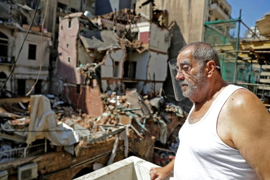 Lebanese are shocked and angry at the scale of the devastation wrought across the capital from last week's explosion in the port of Beirut