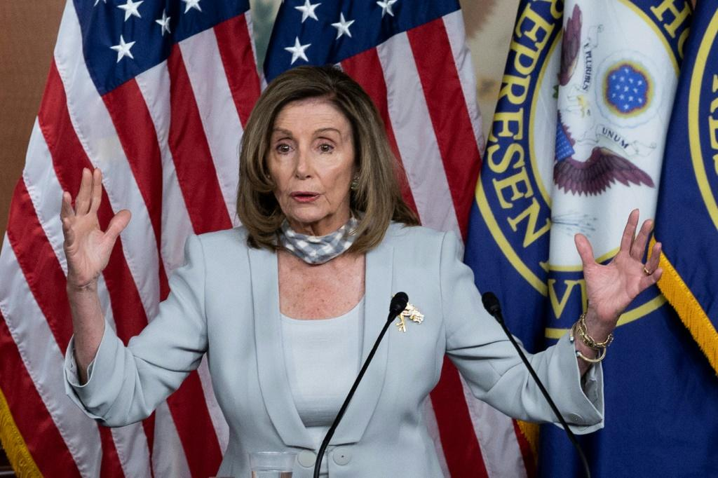 Nancy Pelosi's suggestion that Democrats could lower their stimulus proposal provided some hope US lawmakers can thrash out a deal