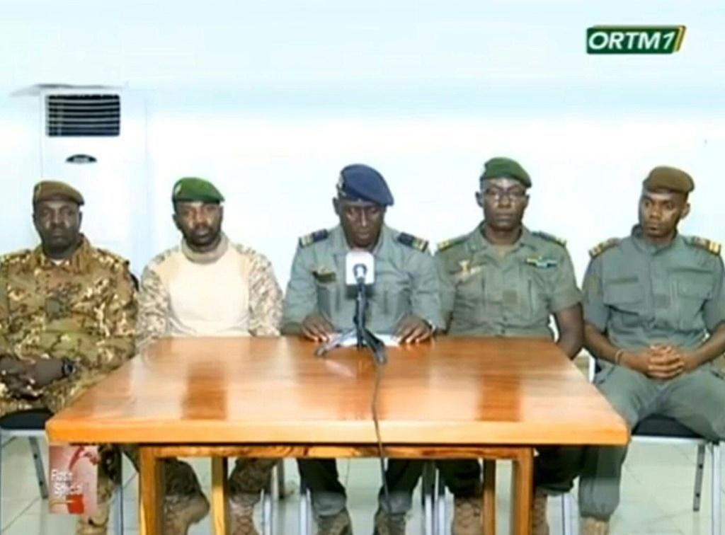 The coup leaders went on Malian television early Wednesday after forcing Keita to resign