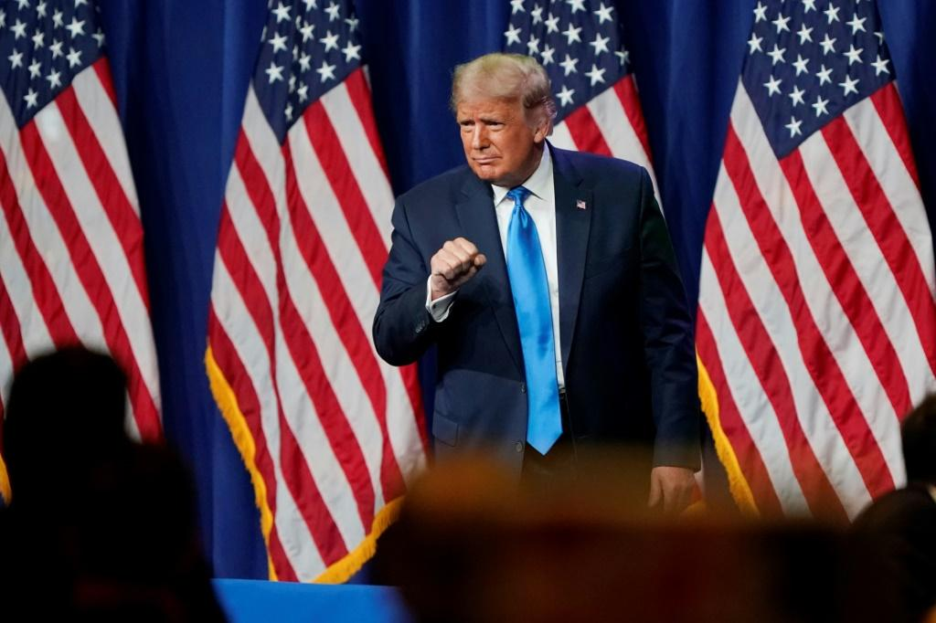 US President Donald Trump gets his Republican nomination then accuses Democrats of planning to steal the election