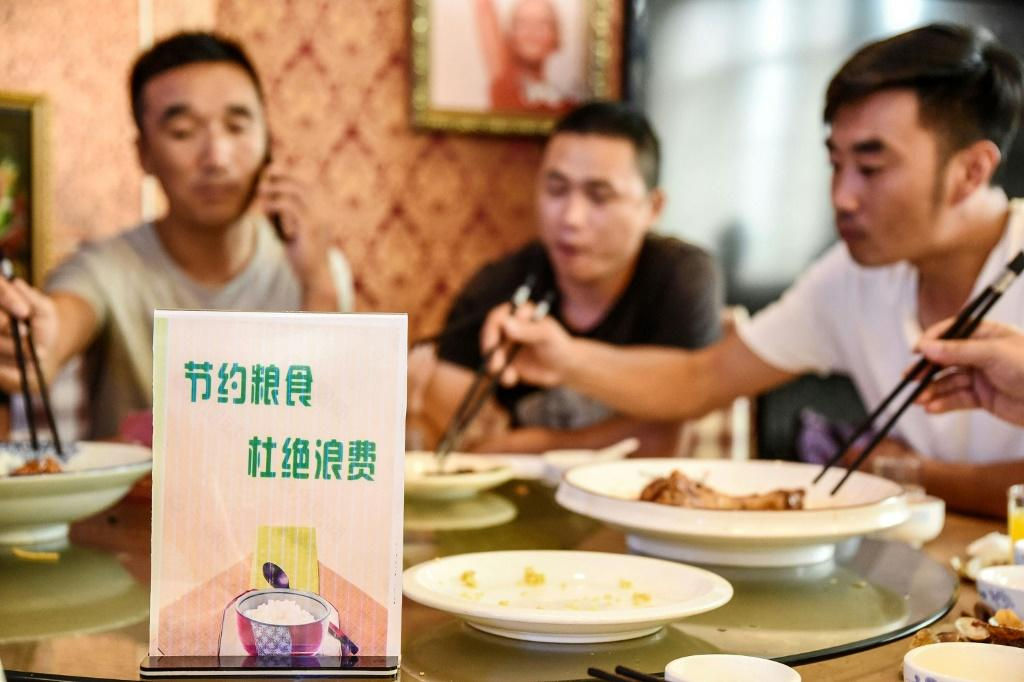 Big meals are ingrained in Chinese culture and consumption is soaring along with living standards