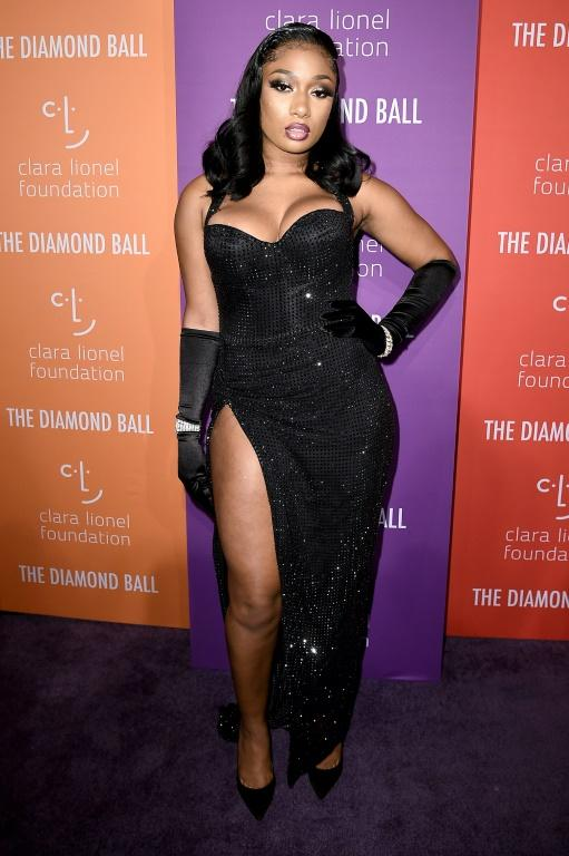 """Megan Thee Stallion, shown here at Rihanna's Diamond Ball in 2019, features on Cardi B's new hit """"WAP,"""" a celebration of sexuality being hailed as a feminist anthem"""