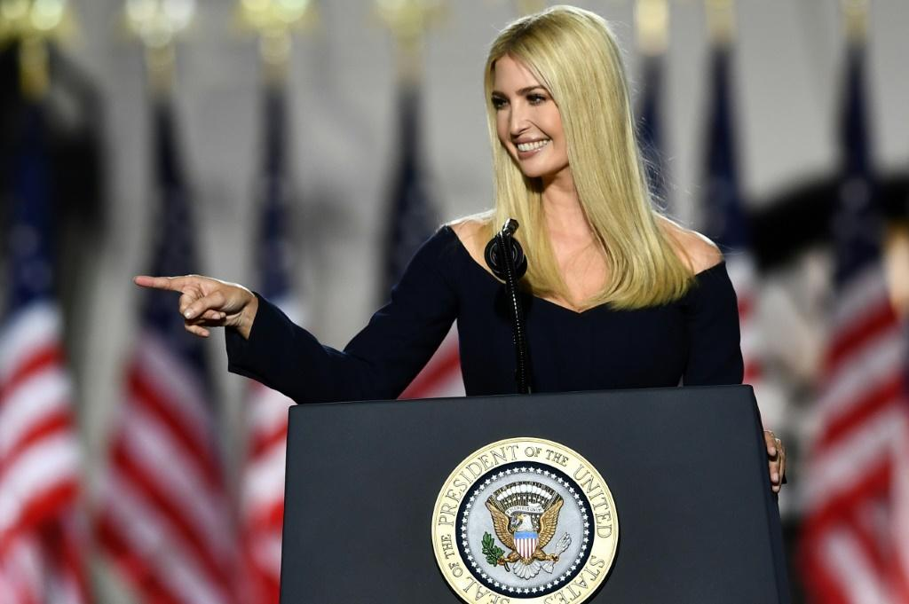 Donald Trump's daughter Ivanka delivered a speech in praise of her father, before introducing his nomination acceptance speech