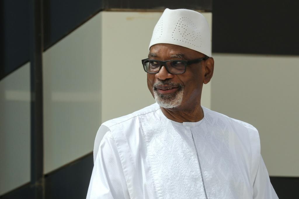 Mali's former president Ibrahim Boubacar Keita was ousted by young officers on August 18