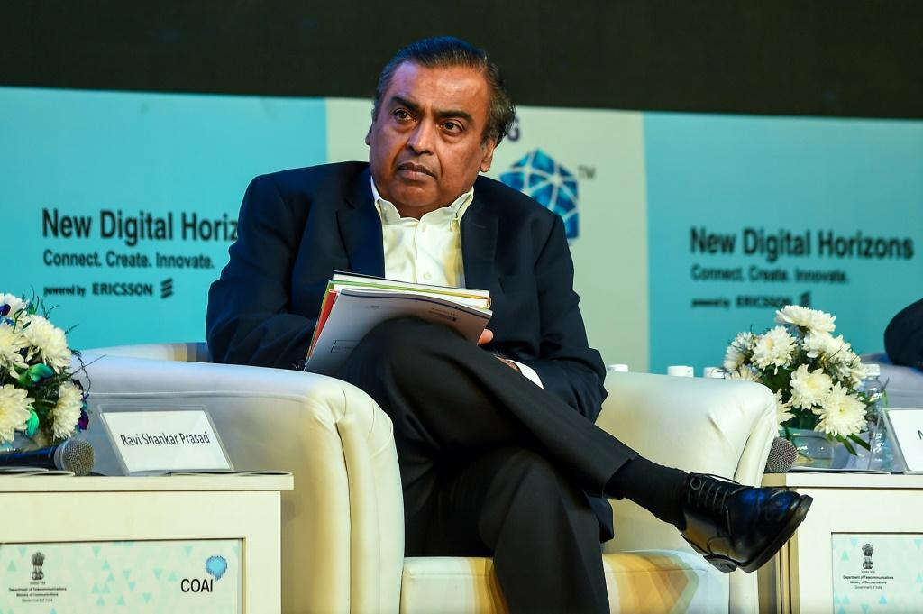 India's richest man Mukesh Ambani, whose Reliance is acquiring Future Group for $3.4 billion