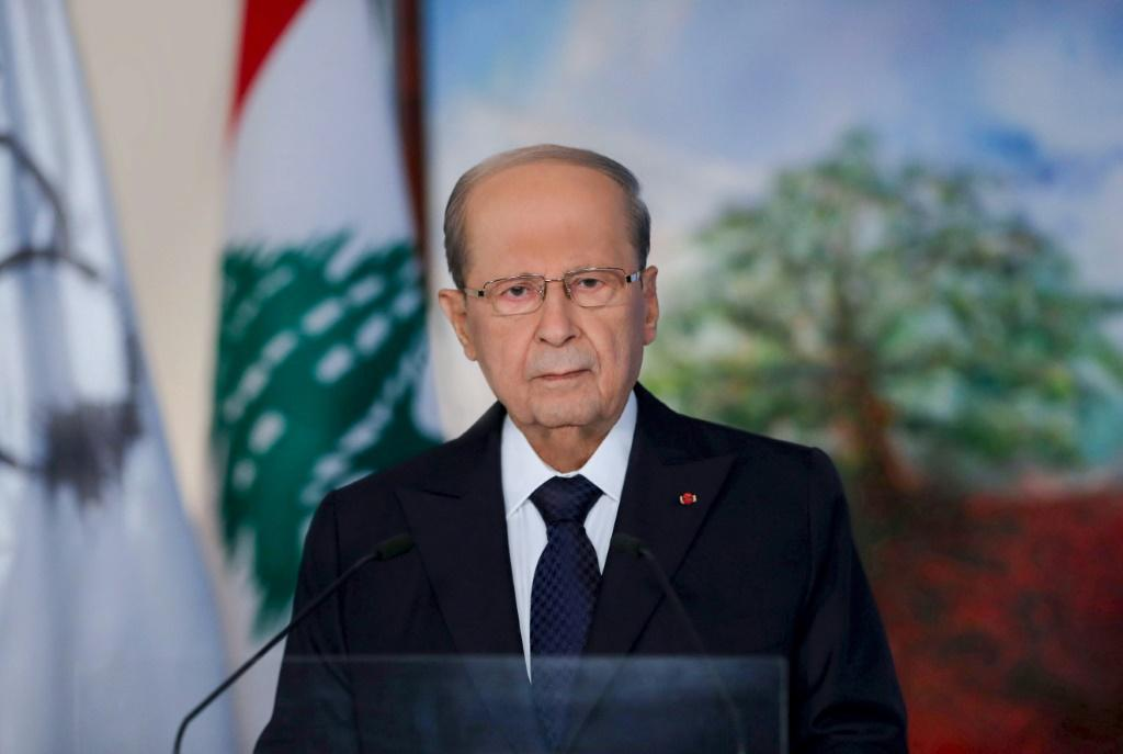 Lebanese President Michel Aoun delivered a televised address Sunday to mark the upcoming centenary of the Lebanese state