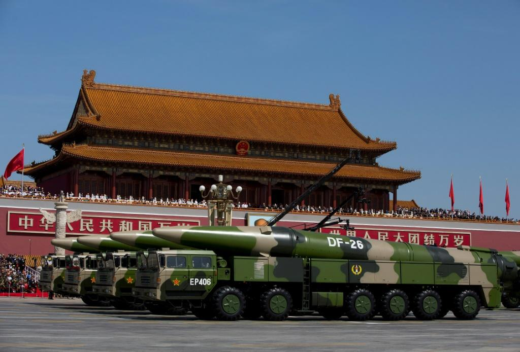 China has condemned a Pentagon report for claiming Beijing wants to double its stockpile of nuclear warheads within a decade
