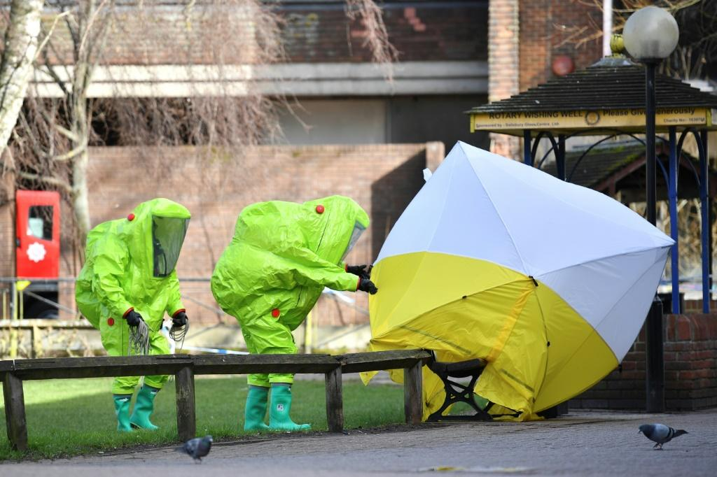 Novichok was used in Salisbury to target Russian former double agent Sergei Skripal, who was living in the city in 2018.